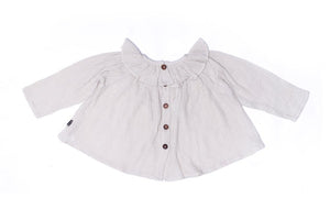 Frida Smock Top Oat