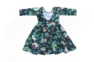 Margot Ballet Dress Botanical Print