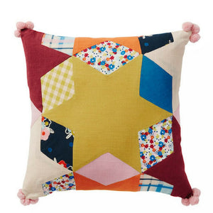 Juliette Patchwork Cushion