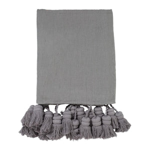 Storm Tassel Throw