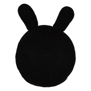 Black Bunny Snuggle Cushion
