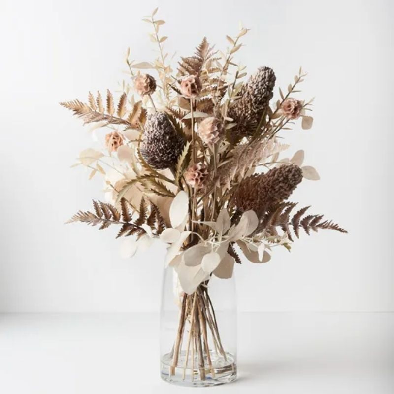 Banksia Acorn Mix in Vase