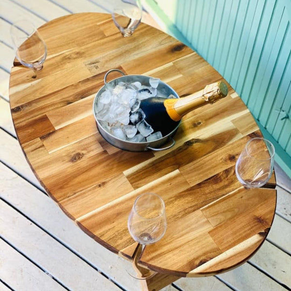 Oval Picnic Table