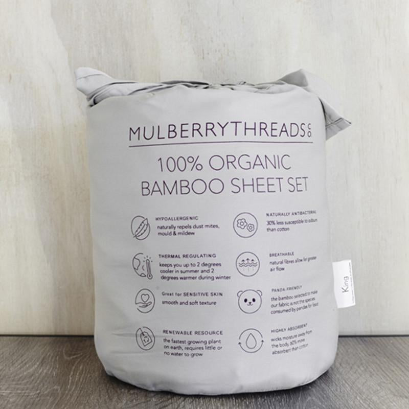 Organic Bamboo Sheet Set - HartCo. Home & Body