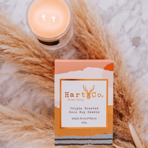 Vanilla and Cedarwood 400g Scented Candle