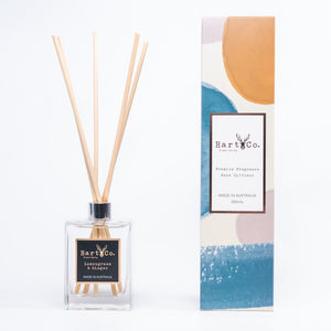 Lemongrass & Ginger Reed Diffuser - HartCo. Home & Body