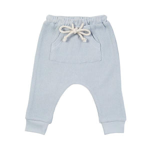 Mika Waffle Jogger - Duck Egg Blue
