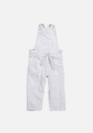 Cross Back Overalls – Grey Stripe - HartCo. Home & Body
