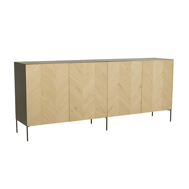 Henley Chevron Buffet - HartCo. Home & Body