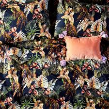 Night Jungle Quilt Cover
