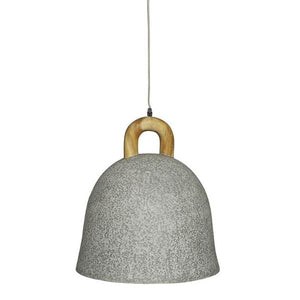 Brooklyn Bell Concrete Pendant Light