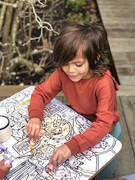 Colouring Table - HartCo. Home & Body