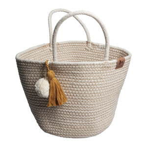 ROPE BASKET- OCHRE - HartCo. Home & Body