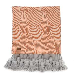 Sandlines Tassel Throw