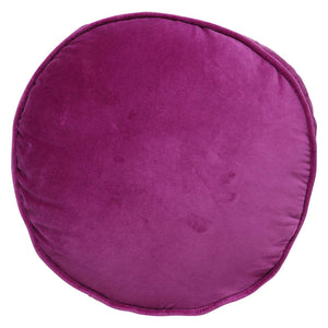 GRAPE SKIN PURPLE VELVET PEA CUSHION