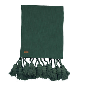 PINE FOREST TASSEL THROW - HartCo. Home & Body