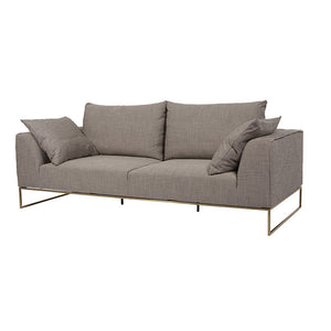 FLOOR STOCK - GLOBE WEST VITTORIA LANGHAM 3 SEATER SOFA