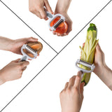 Chef Grids Colorful Knife Set with Knife covers with peeler and protective glove