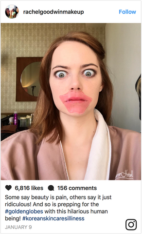 Emma Stone Sheet Mask - Bare and Be