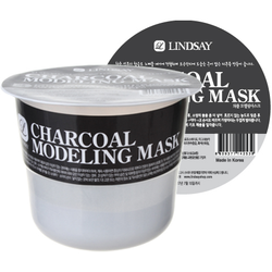 Charcoal Modeling Rubber Cup Mask