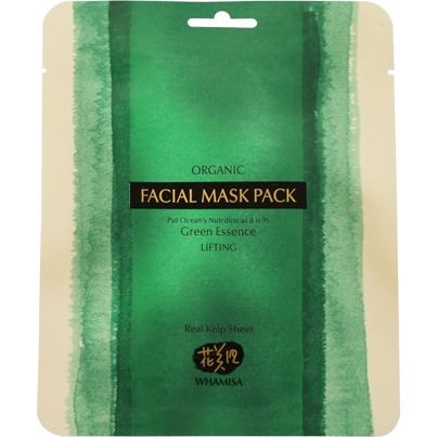 Organic Sea Kelp Facial Sheet Mask