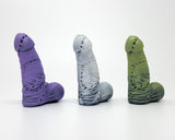Frank's Monster horror/literary-themed adult toy in 3 colors from a different view