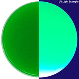 Sample swatch for UV Green
