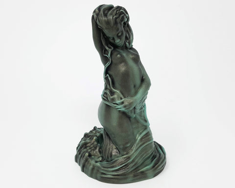 A Mermaid fantasy adult toy from Lust Arts in the color Deepest Wave