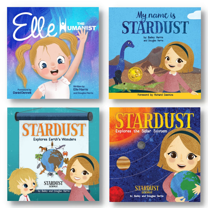 Exclusive Science & Humanism Book Pack (Four Autographed Books)