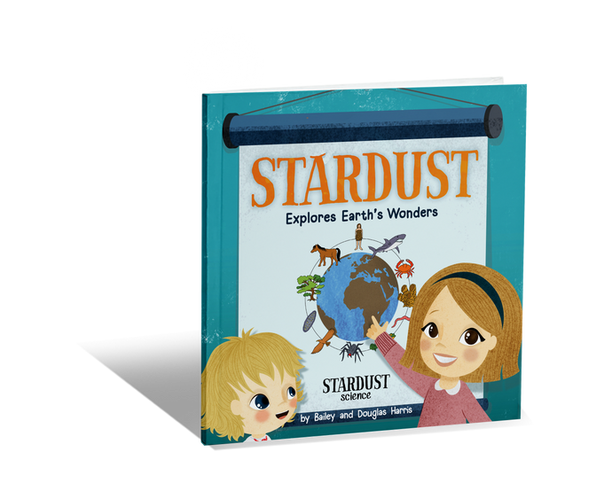 New! Stardust Explores Earth's Wonders (Autographed)