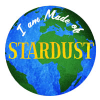 I Am Stardust Pin