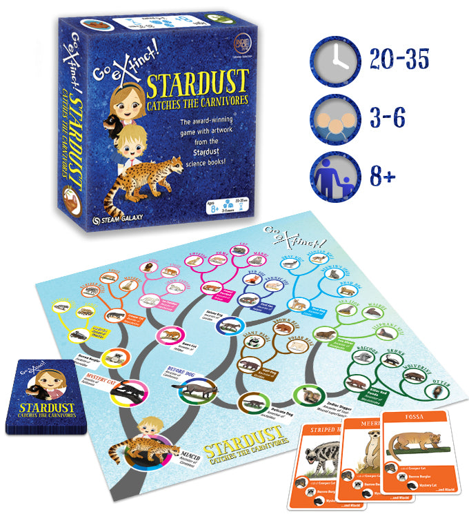 Go Extinct! Stardust Catches the Carnivores (Pre-Order)