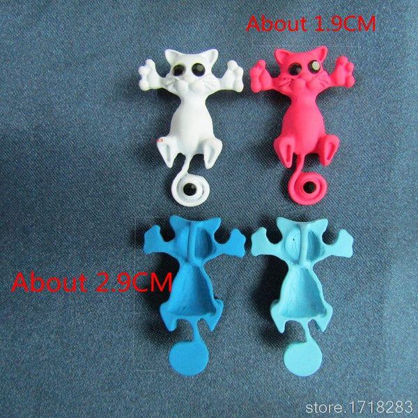 Multiple Color Cute Cat Fashion Necklace Pendant
