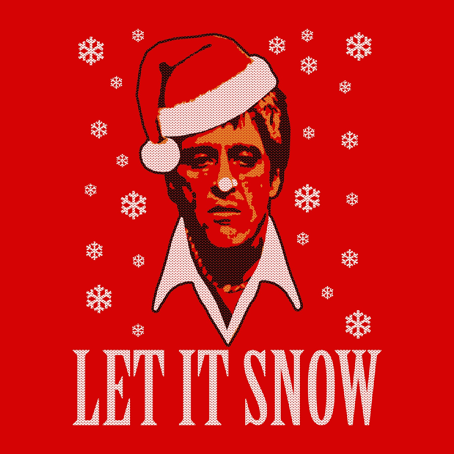 Scarface Tony Montana Let It Snow Christmas T Shirt Shirt Fool
