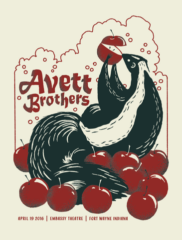 AVETT BROTHERS 2016 Fort Wayne IN