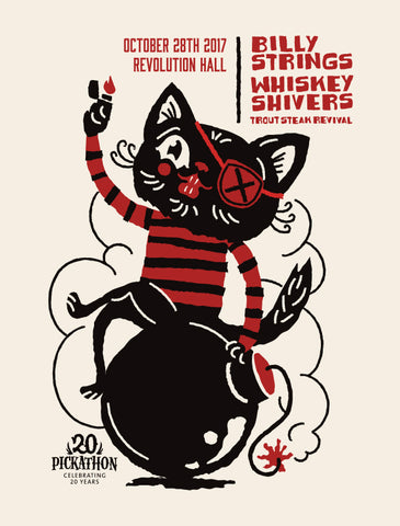 BILLY STRINGS with Whiskey Shivers and Trout Steak Revival Poster