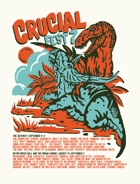 CRUCIAL FEST 7 Poster
