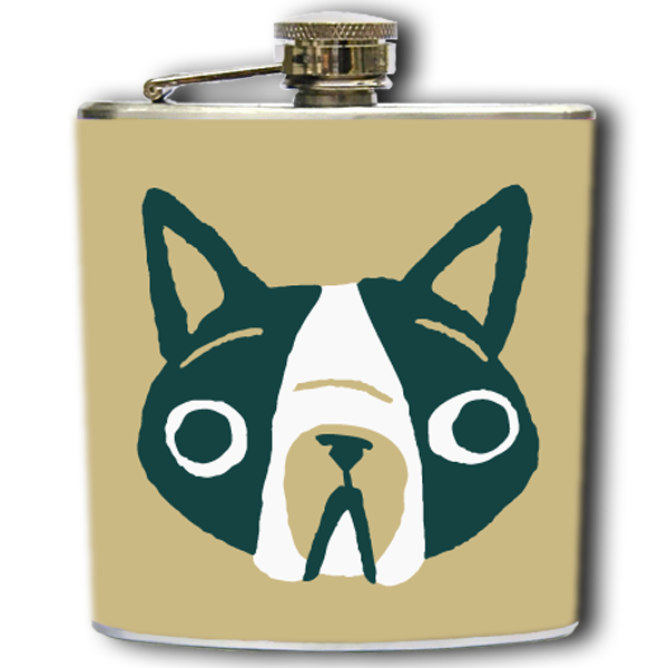 FRENCHIE FLASK