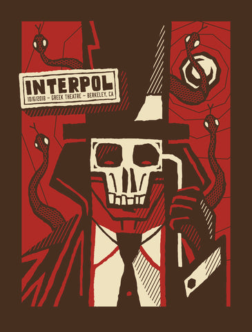 INTERPOL 2018 BERKELEY Poster