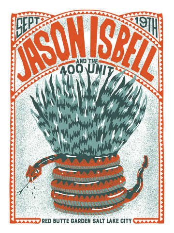 JASON ISBELL and the 400 Unit - Red Butte Poster