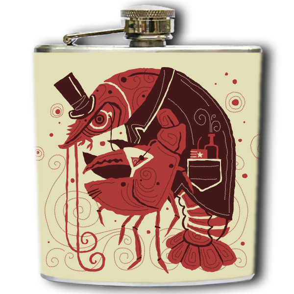DANDY LOBSTER FLASK