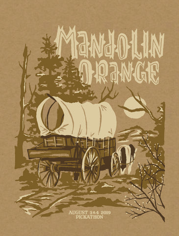 MANDOLIN ORANGE Pickathon 2019 Poster