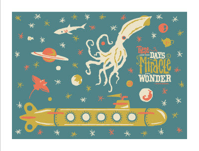 MIRACLE & WONDER Giclee Art Print