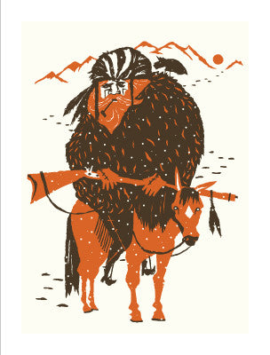 MOUNTAIN MAN Giclee Art Print