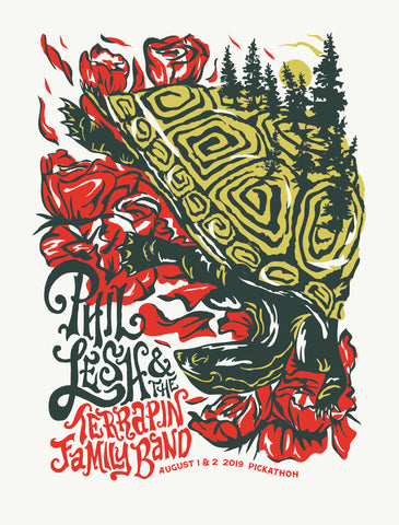PHIL LESH AND THE TERRAPIN FAMILY BAND Pickathon 2019 Poster