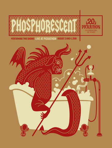 PHOSPHORESCENT Pickathon 2018 Poster