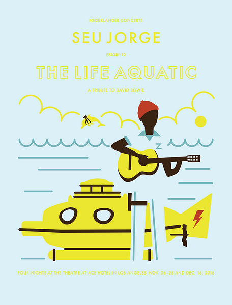 SEU JORGE:  THE LIFE AQUATIC
