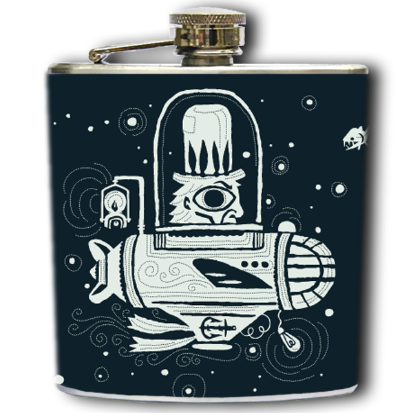 VOYAGE INTO DARKNESS FLASK