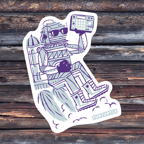 Rocket Bot MPC Vinyl Sticker