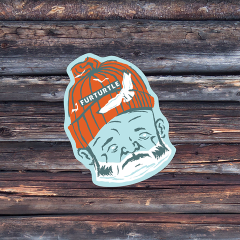Old Man and the Sea Vinyl Sticker